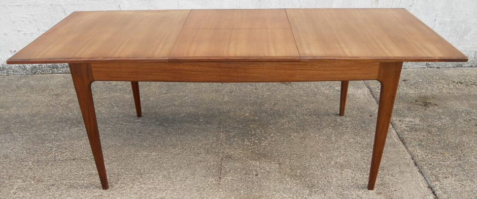 1960 s retro teak extending dining table to seat eight sold for Retro dining table