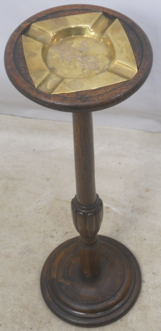 Ashtray On Wooden Stand Sold