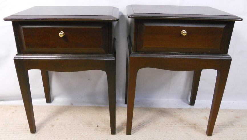 Bedside Cabinets By Stag Sold