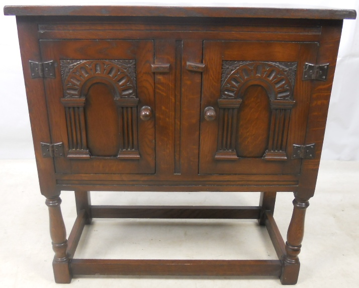 Dark Carved Oak Jacobean Style Hall Cupboard : dark carved oak jacobean style hall cupboard 953 p from www.harrisonantiquefurniture.co.uk size 714 x 573 jpeg 178kB