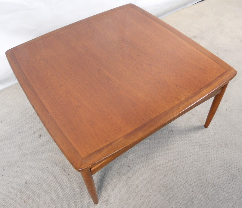 G plan teak wood large square coffee table sold for Large wood coffee table