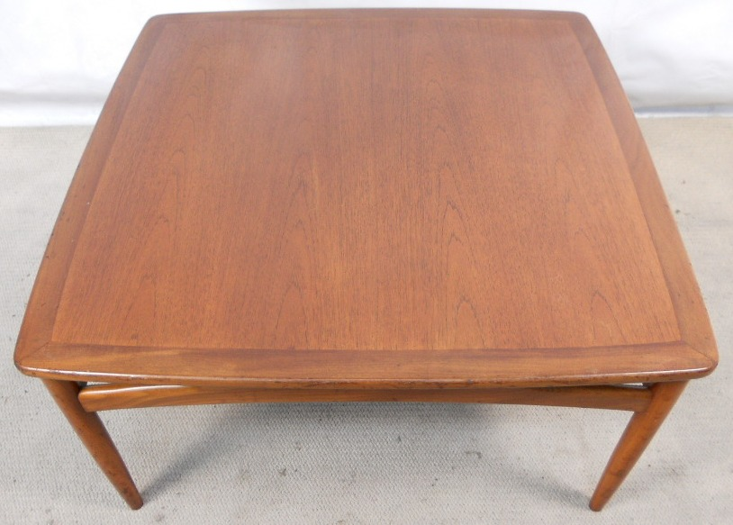 G Plan Teak Wood Large Square Coffee Table Sold