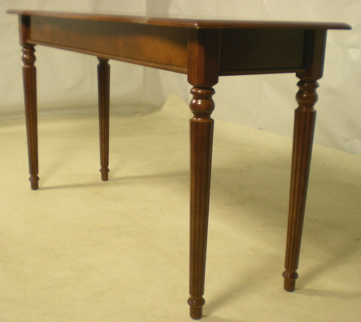 Georgian style long mahogany side table sold for Long side table