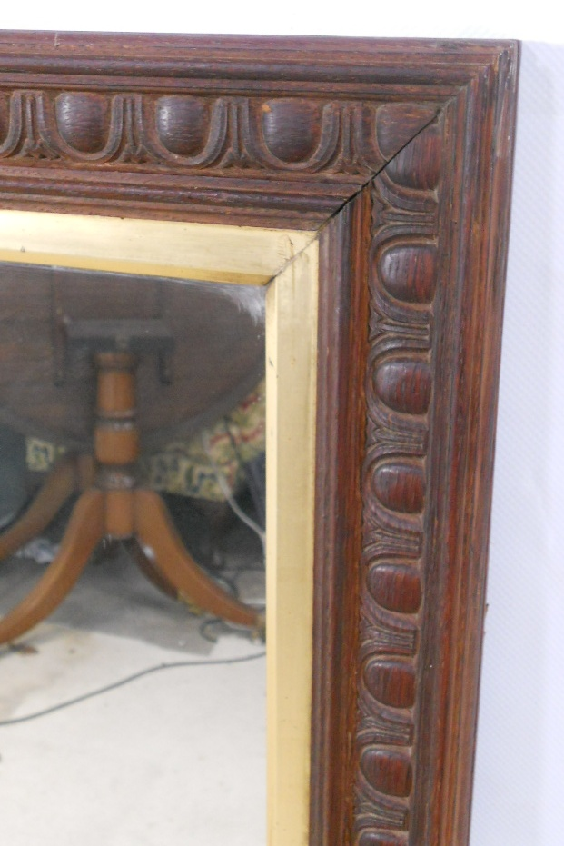 Large carved frame hanging wall mirror for Hanging a large mirror