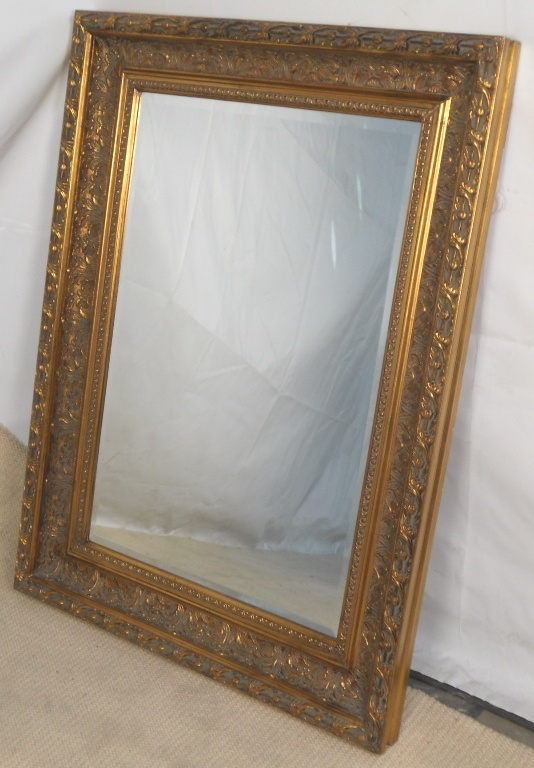 Large gilt framed hanging wall mirror for Hanging a large mirror