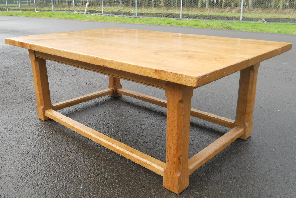 Large light oak coffee table Light oak coffee tables
