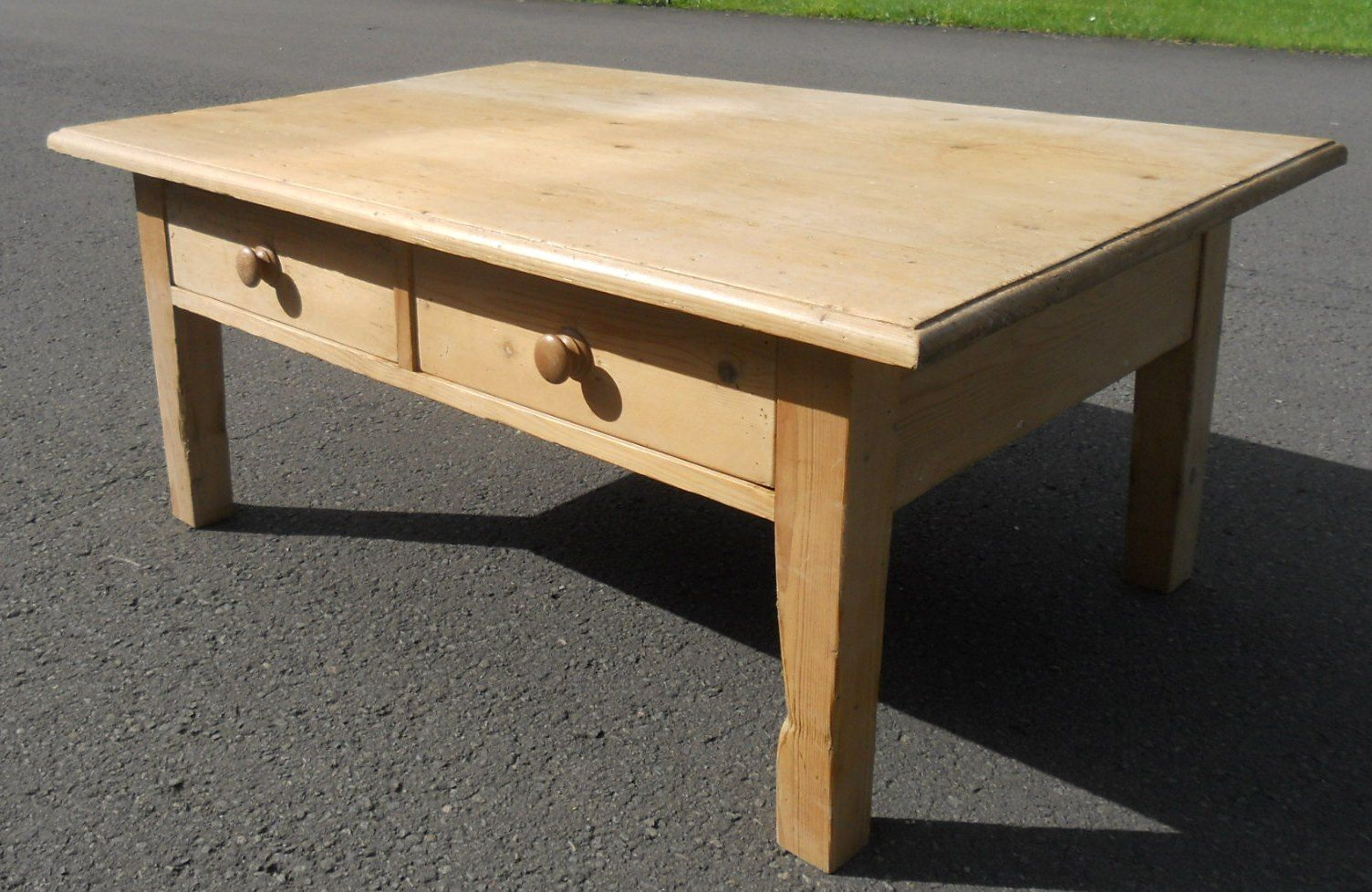 Large Pine Coffee Table