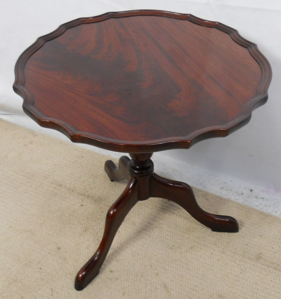 Mahogany Pedestal Coffee Table By Charles Barr Sold