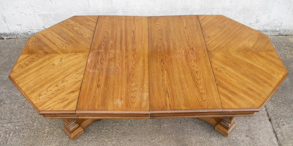 octagon dining table 1