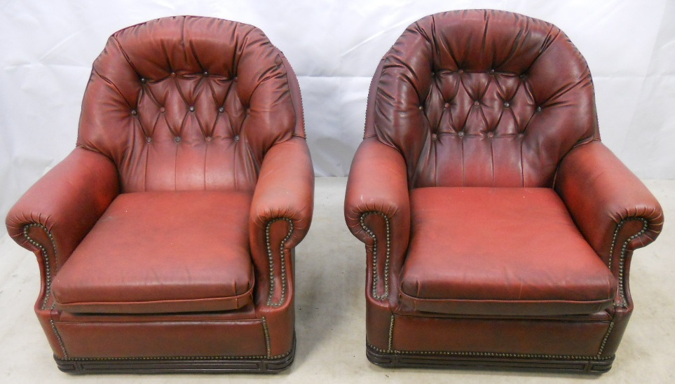Pair Red Leather Tub Armchairs : pair red leather tub armchairs 1712 p from www.harrisonantiquefurniture.co.uk size 963 x 548 jpeg 198kB