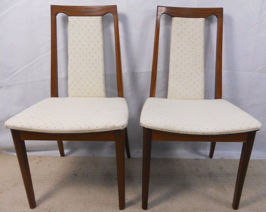 Pair Teak Upholstered Dining Chairs by G Plan : pair teak upholstered dining chairs by g plan 2631 p from www.harrisonantiquefurniture.co.uk size 863 x 688 jpeg 190kB