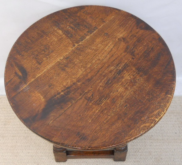 Round Oak Antique Style Coffee Table Sold