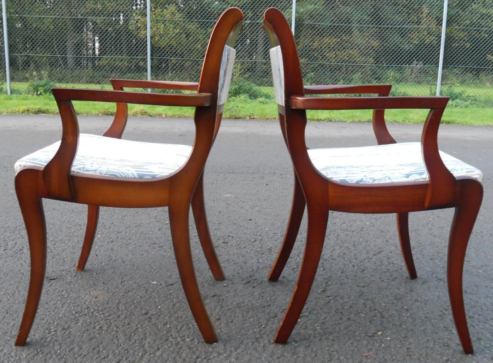 Dining Chairs Mahogany Upholstered Leather upholstered mahogany