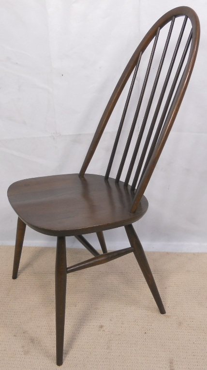 of Six Ercol Highback Spindle Dining Chairs SOLD