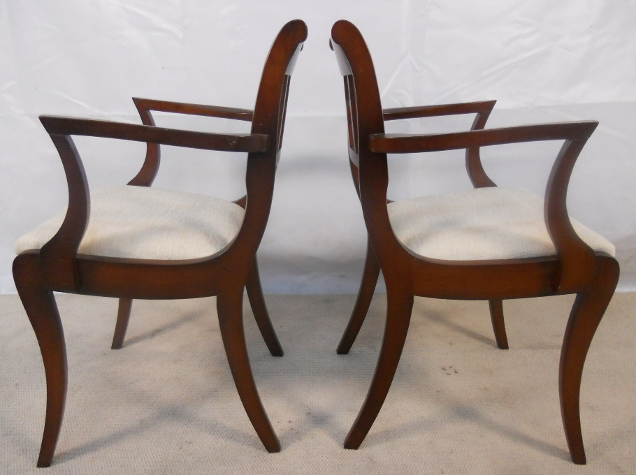 Set Of Six Mahogany Dining Chairs SOLD