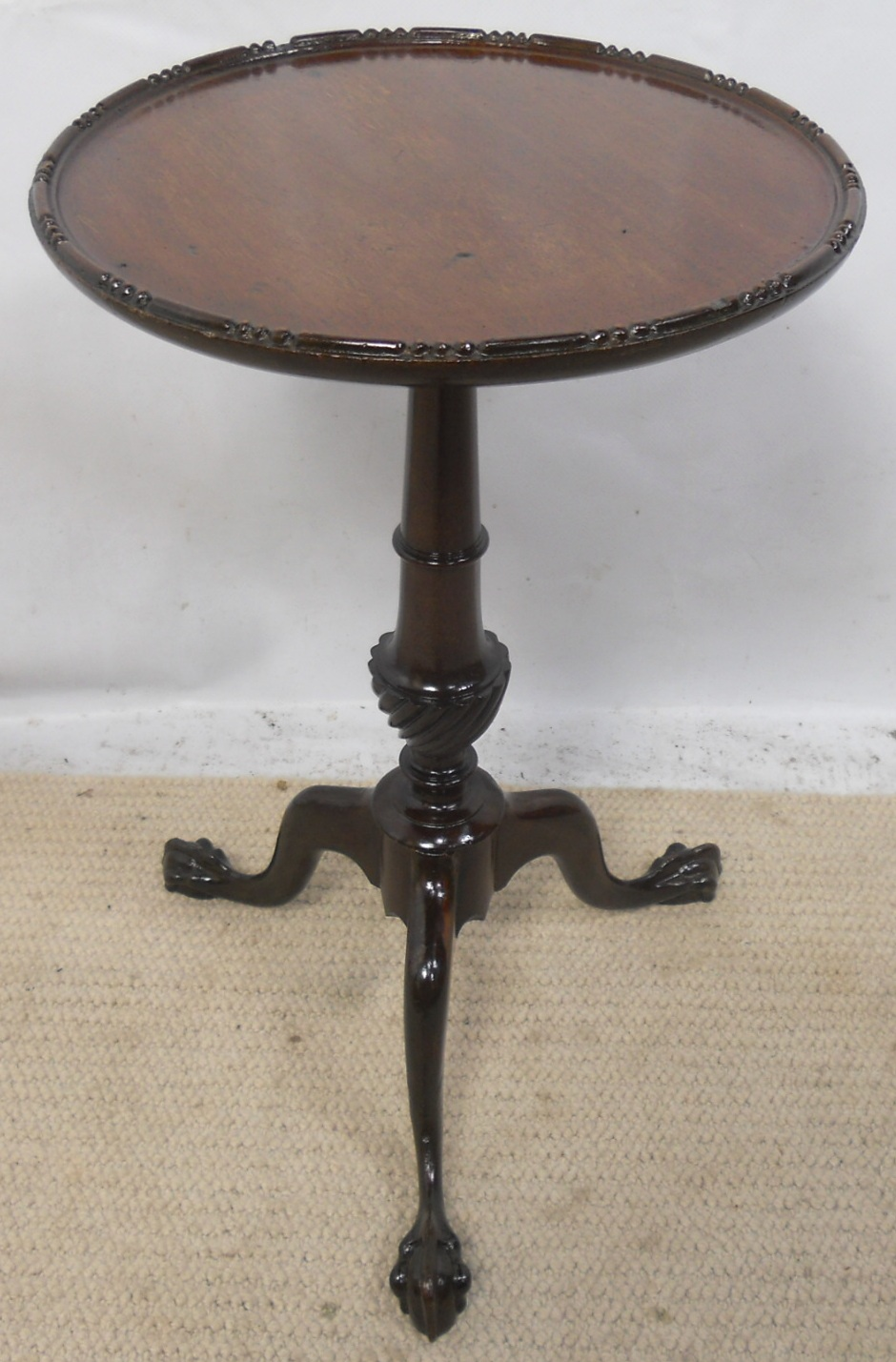 Small Mahogany Tripod Pedestal Wine Table : small mahogany tripod pedestal wine table 3518 p from www.harrisonantiquefurniture.co.uk size 940 x 1429 jpeg 333kB