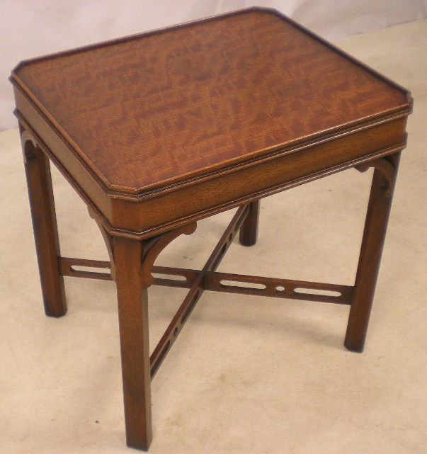 Sold Chippendale Style Mahogany Coffee Table