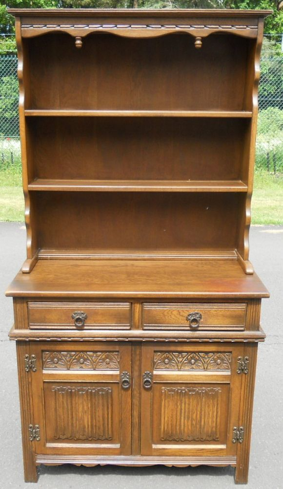 Sold Small Oak Dresser By Old Charm