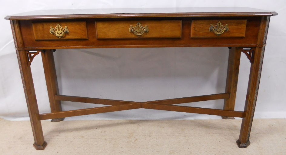 Walnut Console Table In Antique Georgian Style Sold