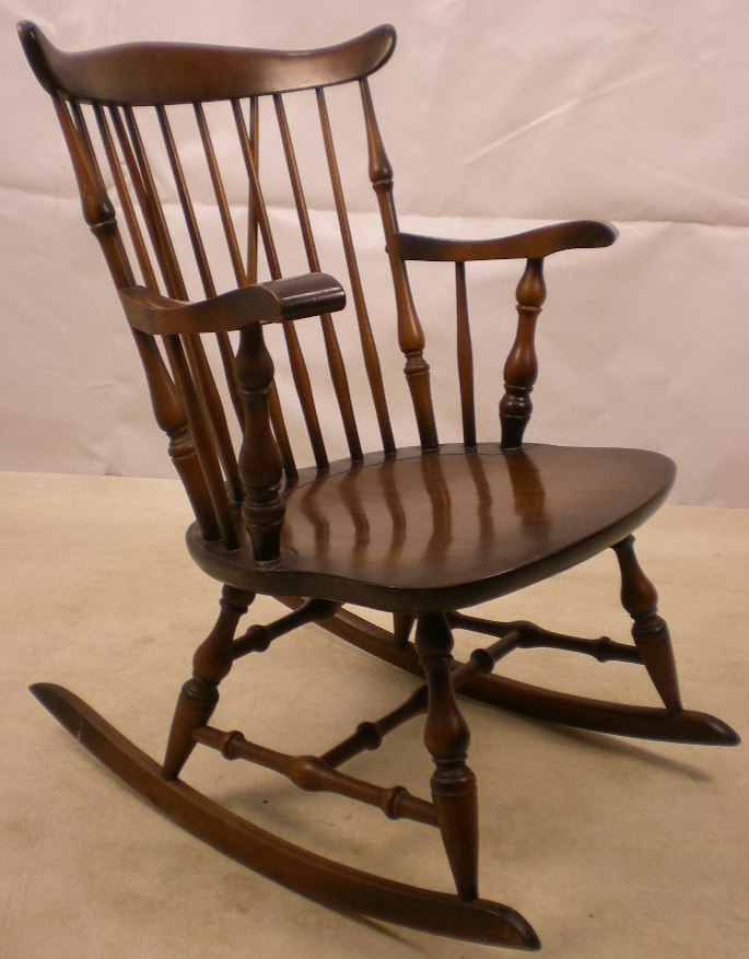 Rocking armchair in good condition circa 1970 a useful rocking chair