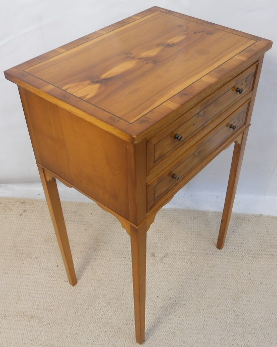 Yew side table in the antique georgian style sold for Yew sofa table