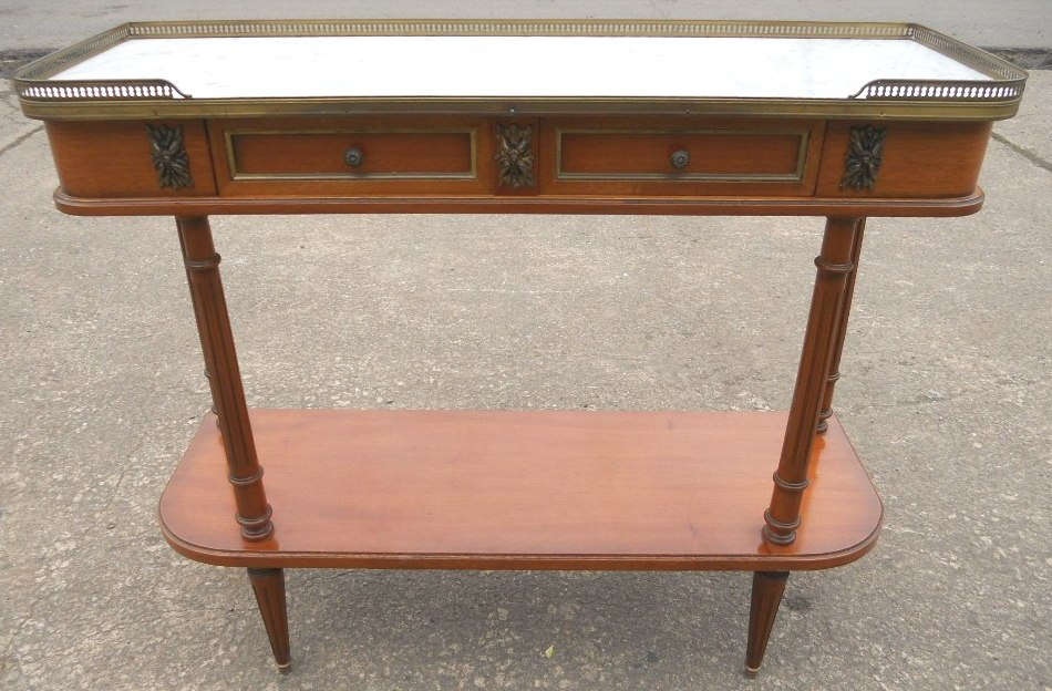 Console Table in Antique French Style