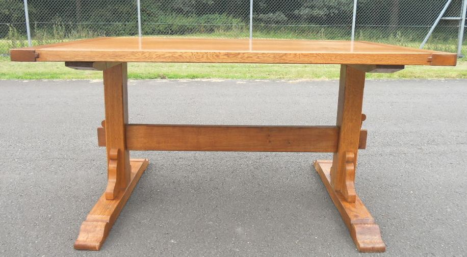 Oak Craftsman Made Refectory Dining Table
