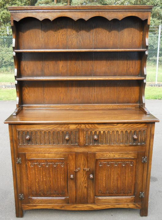 Oak Cupboard Base Welsh Dresser
