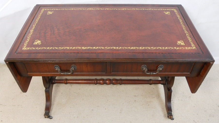 ... Antique Coffee Table Piece Of Writing Which Is · Edwardian ...