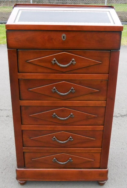 Walnut Wellington Chest of Drawers